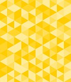 Tile vector background with yellow triangle
