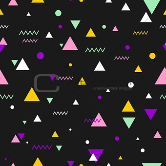 80s or 90s tile vector pattern