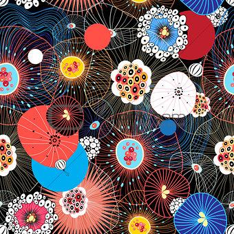 Abstract fantasy pattern
