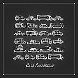 Cars collection, sketch for your design