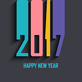 Modern Happy New Year background