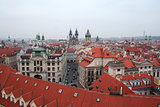 Prague in the red - as you is beautiful!