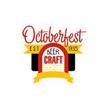Oktoberfest Logo Design Template