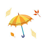 Umbrella As Autumn Attribute