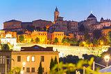Upper town Citta alta, Bergamo, Lombardy, Italy