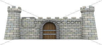 fortress wall