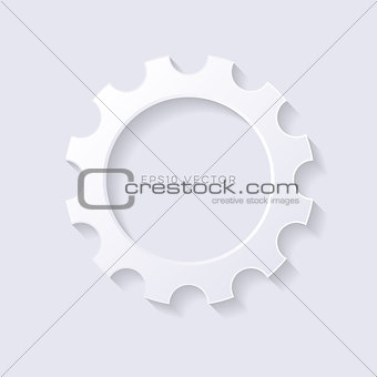 Blank vector 3d web button