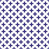 Tile blue and white vector pattern
