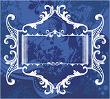 Decorative frame with pattern
