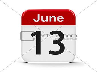 13th June