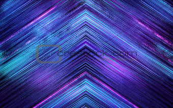 blue abstract triangle background texture
