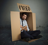 Fired businessman