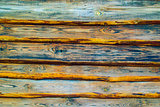 wood planks. close up of wall made of wooden planks. old wood pl