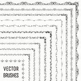 Vector Brushes with Outer and Inner Tiles Collection