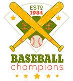 Emblem for baseball