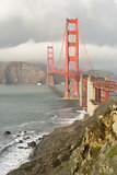 Stormy Skies on the Golden Gate Bridge