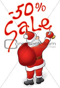 Santa Claus, sale - 50