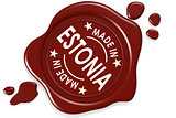 Label seal of Made in Estonia