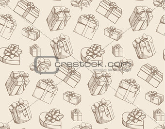 Sketch present boxes.