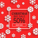 Christmas sale. Vector.
