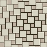 Vector beige tiles seamless pattern