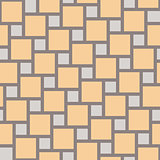 Vector yellow tiles seamless pattern