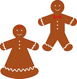 christmas cookies gingerbread man