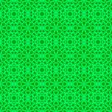 Green Ornamental Seamless Line Pattern