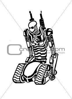 Sketch creative robot
