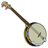 Four strings banjo