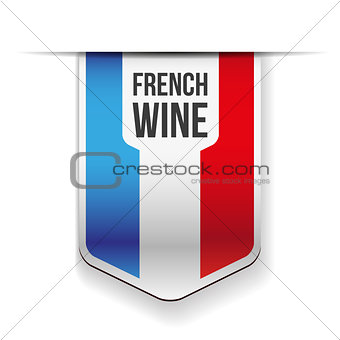 French Wine ribbon