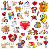 valentine big cartoon collection