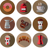 Great designed coffee vectors