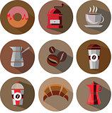 Great designed coffee vectors
