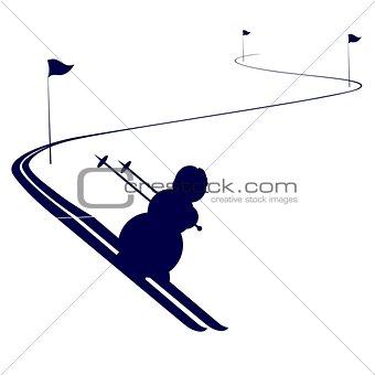 Circuit athlete mountain skier-1