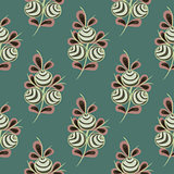 Flower seamless pattern background.