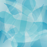 Abstract blue vector background.