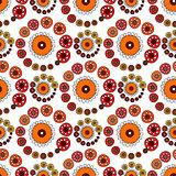 Bright Varicolored seamless pattern white background.