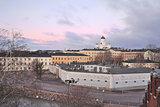 Helsinki at twilight