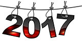 New Year 2017 - Hanging on Steel Cable