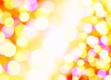 Background of defocused lights