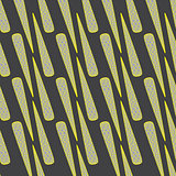 Golden Cone on Grey Seamless Pattern