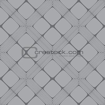 Grey Rectangle Mosaic Seamless Pattern