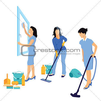 Cleaning and house cleaning