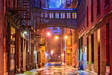 Tribeca Alley in New York