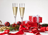 wine, star, decoration, new, holiday, bright, celebrate, festiv