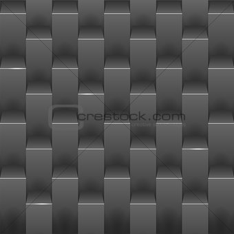 Abstract background with black boxes.