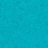 Blue SEO Line Tile Pattern