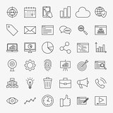 Development Line Icons Set