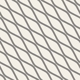 Vector Seamless Black and White Diagonal Stripy Wavy Lines Pattern